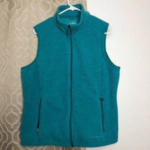 Teal sweater vest